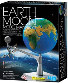 4M Earth Moon Model Making Kit 3241