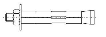Kiilankur Vagner SDH 10x77 mm, 5 tk, tsingitud