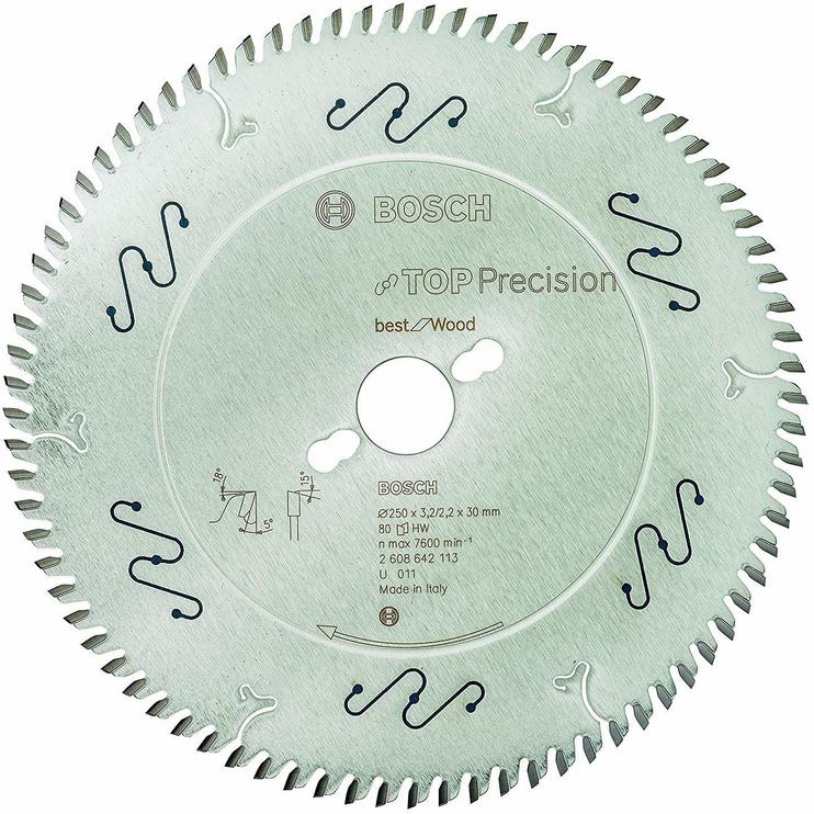 Bosch 2608642113 Circular Saw Blade Top Precision 250x30mm