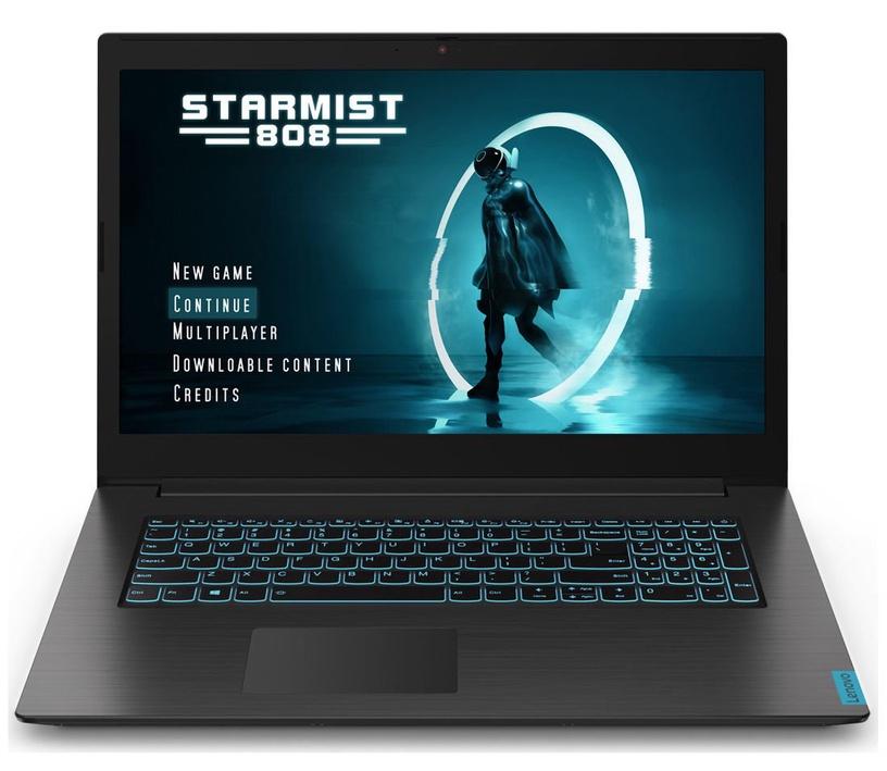 "Nešiojamas kompiuteris Lenovo IdeaPad L340-17IRH Gaming Black 81LL00EAPB PL Intel® Core™ i5, 8GB/512GB, 17.3"""