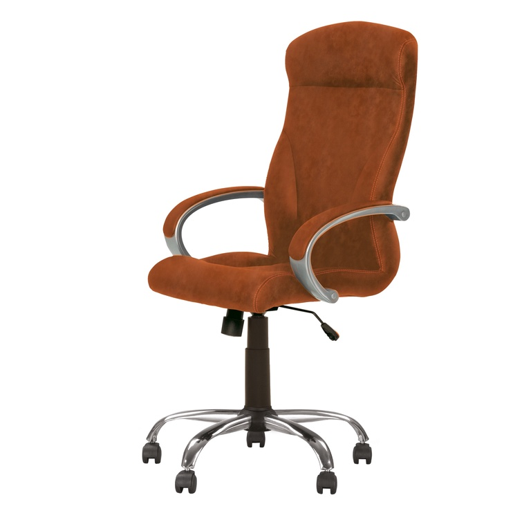 Biroja krēsls Nowy Styl Riga Comfort Eco-21, brūna