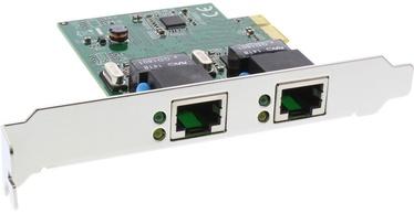 InLine 51126I Dual Gigabit Network Card PCI Express 2x 1GBit/s PCIe x1