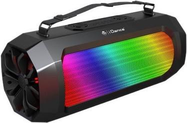 Belaidė kolonėlė iDance Cyclone 1000 Bluetooth Speaker Black