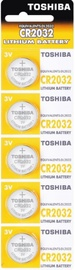 Toshiba Lithium Battery CR2032 x 5
