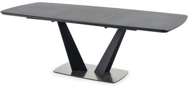 Pusdienu galds Halmar Fangor, pelēka, 1600x900x760mm