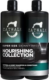 Tigi Catwalk Oatmeal & Honey 750ml Shampoo + 750 Conditioner