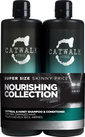 Tigi Catwalk Oatmeal & Honey 750ml Shampoo + 750 Conditioner