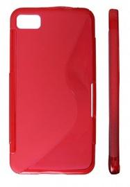 KLT Back Case S-Line HTC 8X C620e Silicone/Plastic Red