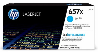 HP Toner 657X CF471X Cyan
