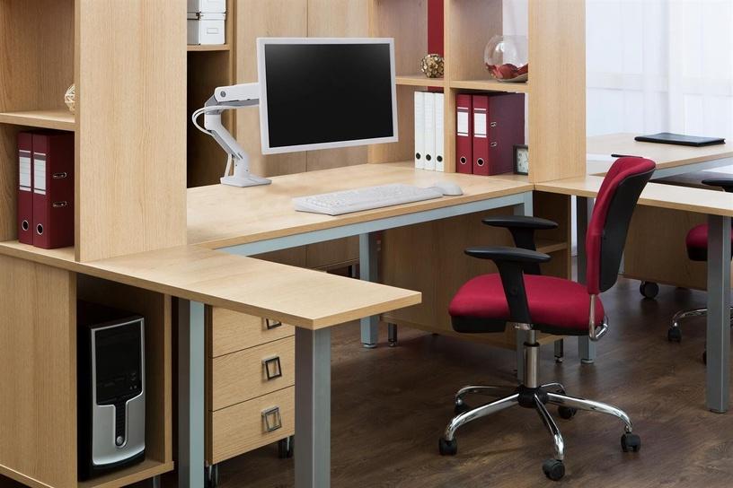 Ergotron HX Monitor Desk Mount White