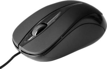 Media-Tech Plano MT1091K Optical Mouse Black
