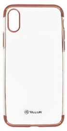 Tellur Electroplated Back Case For Apple iPhone X/XS Rose Gold