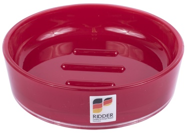 Ridder Soap Tray Disco Red
