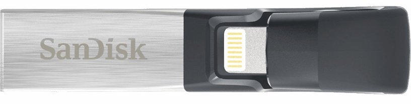 SanDisk iXpand Flash Drive 256GB Lightning/USB 3.0