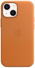 Futrālis Apple iPhone 13 mini Leather Case with MagSafe, brūna