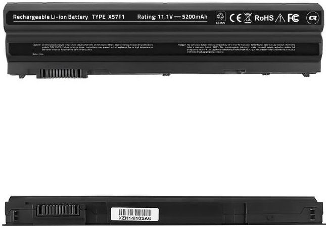 Qoltec Long Life Notebook Battery For Dell E6420 5200mAh