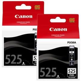 Rašalinio spausdintuvo kasetė Canon PGI-525 Black Twin Pack