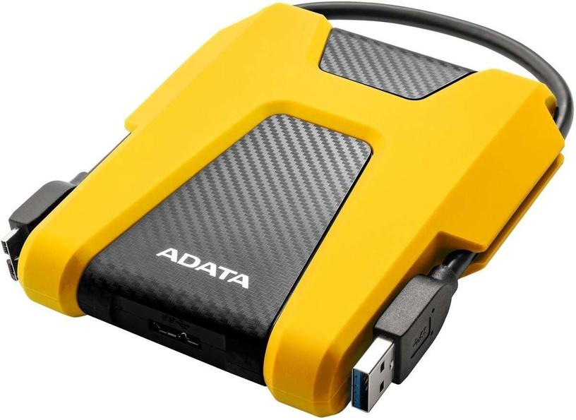 Adata HD680 2TB USB 3.0 Yellow