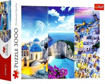 Puzle Trefl Greek Holidays 33073, 3000 gab.