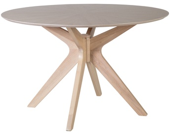 Home4you Table Jenna 120x75cm Grey/Oak
