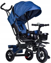 EcoToys Tricycle Trolley Pusher Blue