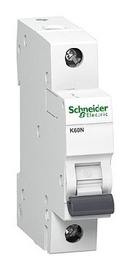 Automatinis jungiklis Schneider K60N, 1P, C, 20A, 6kA