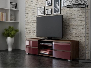 Pro Meble Milano 150 With Light Walnut/Red