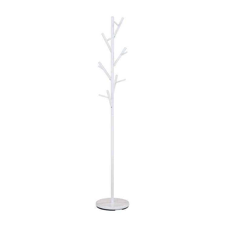 Drabužių kabykla GC3810, balta, 170 cm