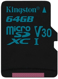 Kingston Canvas Go! MicroSD 64GB