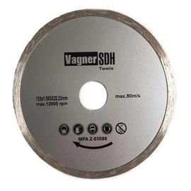 Nepārtrauktais dimanta griezējdisks, izmērs 125x1,9x22,23 mm, Vagner SDH