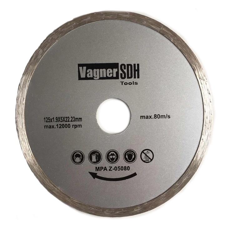 Teemantlõikeketas Vagner CSB 125x1.9x22.23mm