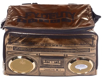 Fydelity Jambox Coolio Thermo Bag with Speakers Brown