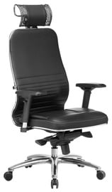 MN Samurai KL-3.04 Leather Office Chair Black