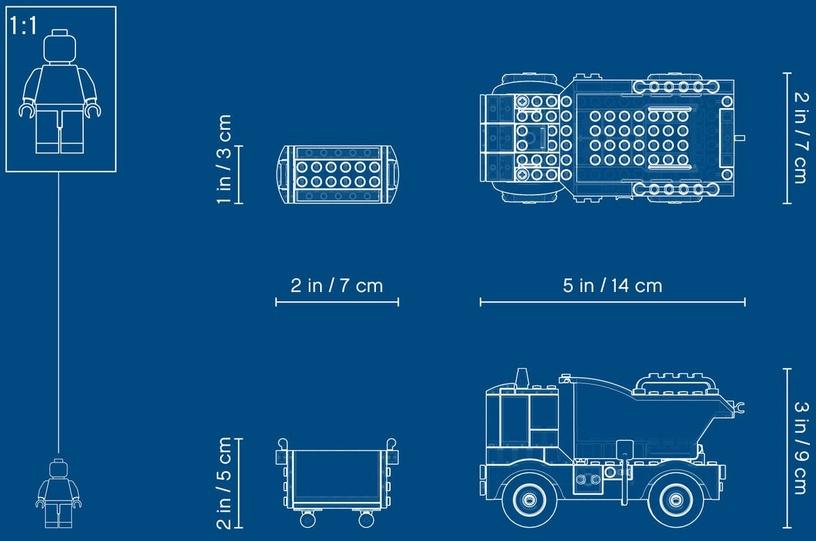 Konstruktorius LEGO® City 60220 Šiukšliavežė