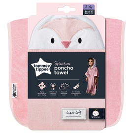 Tommee Tippee Splashtime Poncho Towel Pink 2-4y