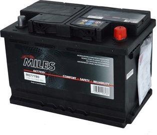 Аккумулятор Miles M074680, 12 В, 74 Ач, 680 а