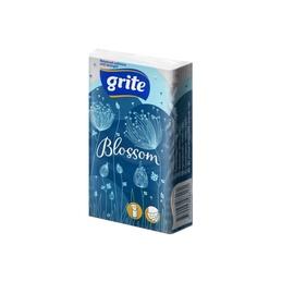 Popierinės nosinaitės Grite Blossom, 10 vnt.