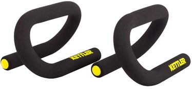Kettler Handles For Push-Ups Black Yellow