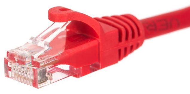 Netrack CAT 6 UTP Cable Red 1m