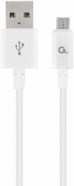 Gembird USB To MicroUSB Cable White 1m