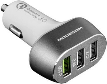 Modecom MC-CU3 QuickCharge 3.0 + 2xUSB Car Charger