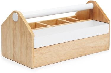 Umbra Toto Storage Box White/Wood