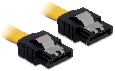 Delock Cable SATA to SATA Yellow 0.7m