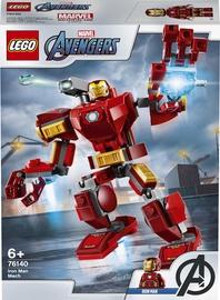 Конструктор LEGO® Super Heroes Marvel Железный Человек: робот 76140, 148 шт.