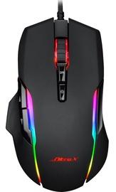 Spēļu pele Inter-Tech Nitrox GT-200, melna