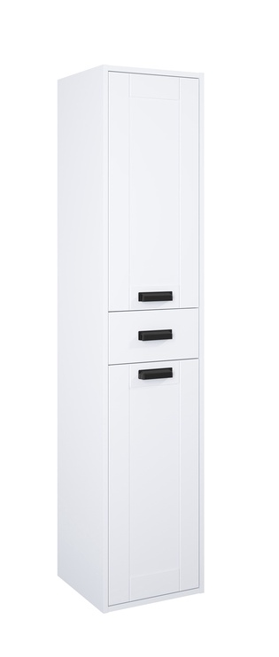Шкаф для ванной Masterjero Inge New, белый, 35 x 35 см x 162 см