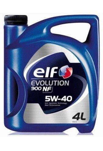 Машинное масло Elf Evolution 900 NF 5W - 40, синтетический, для легкового автомобиля, 4 л