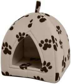 Dzīvnieku gulta - māja VLX Cubby L, bēša, 400 mm x 400 mm