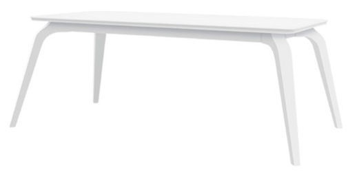 Black Red White Coffee Table White