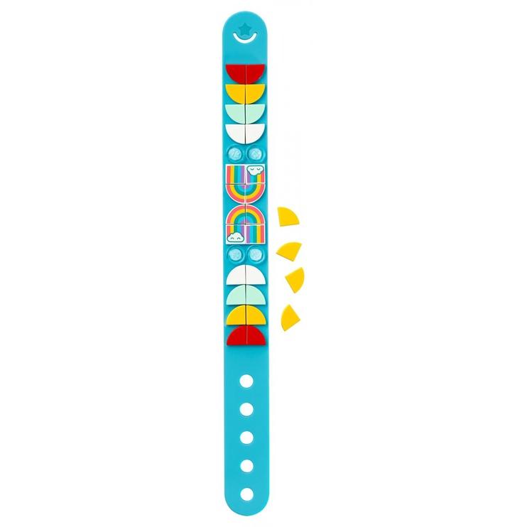 Konstruktorius LEGO®DOTs 41900 Vaivorykštės apyrankė